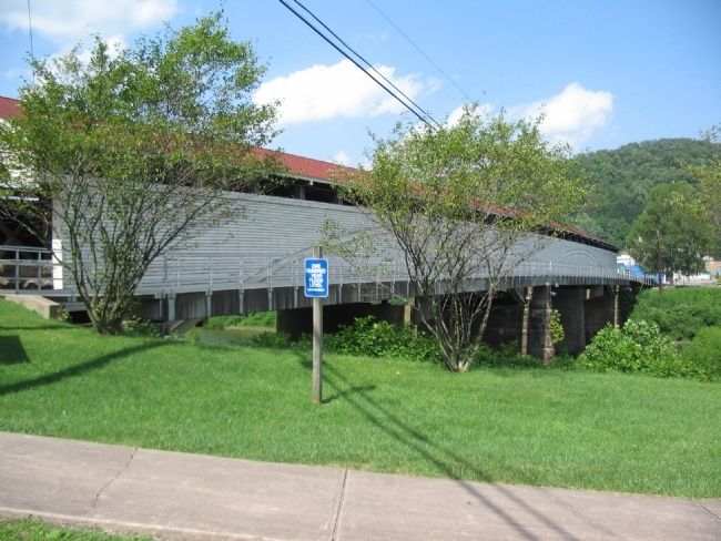 The Philippi Covered Bridge image. Click for full size.