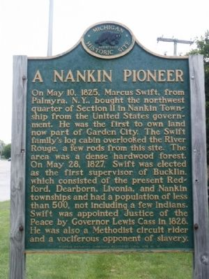 A Nankin Pioneer Marker image. Click for full size.