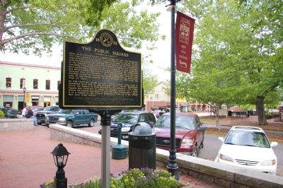 The Public Square Marker image. Click for full size.