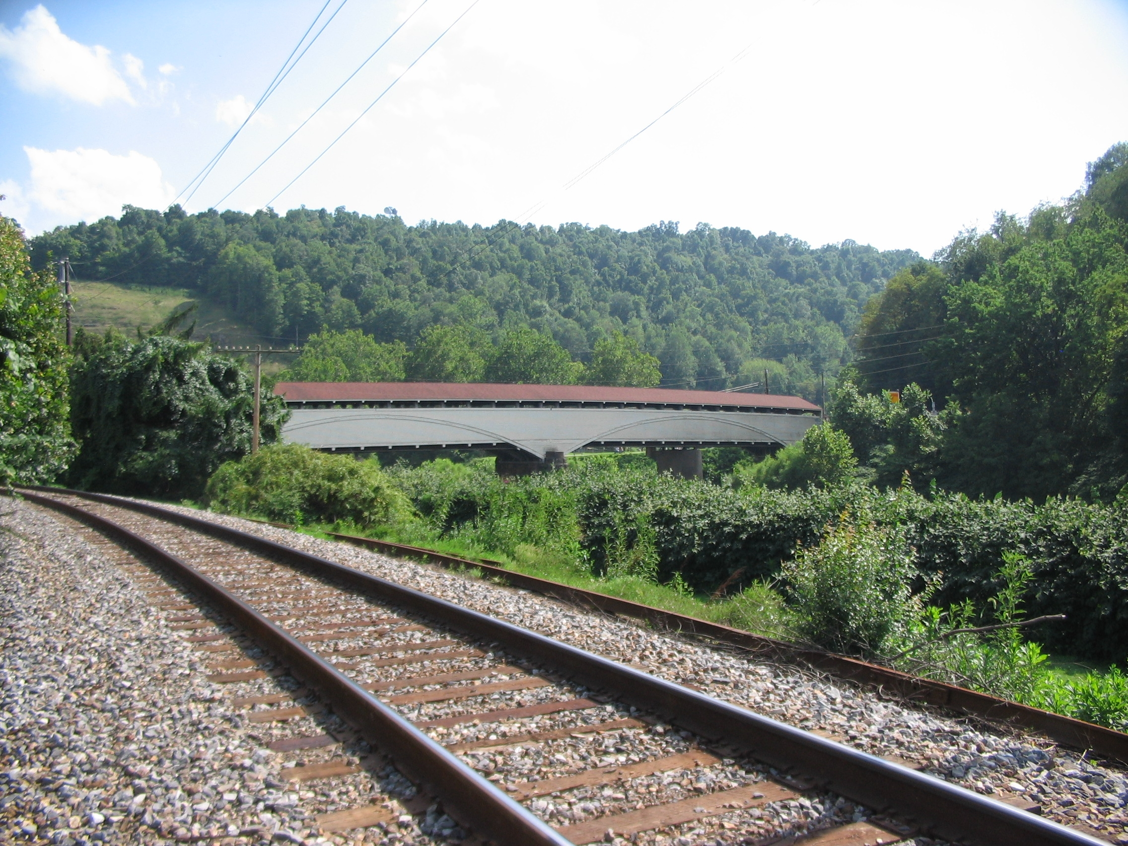 The Philippi Covered Bridge
