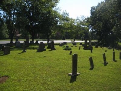 Niswonger Church cemetery image. Click for full size.