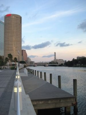 Rivergate Tower and the Hillsborough River image. Click for full size.