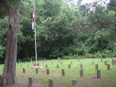Kittrell Confederate Cemetery image. Click for full size.