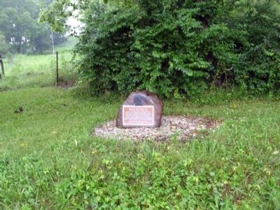 Wide View - - Trail of Death Marker image. Click for full size.