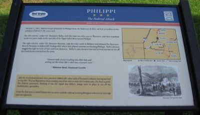 Philippi Marker image. Click for full size.