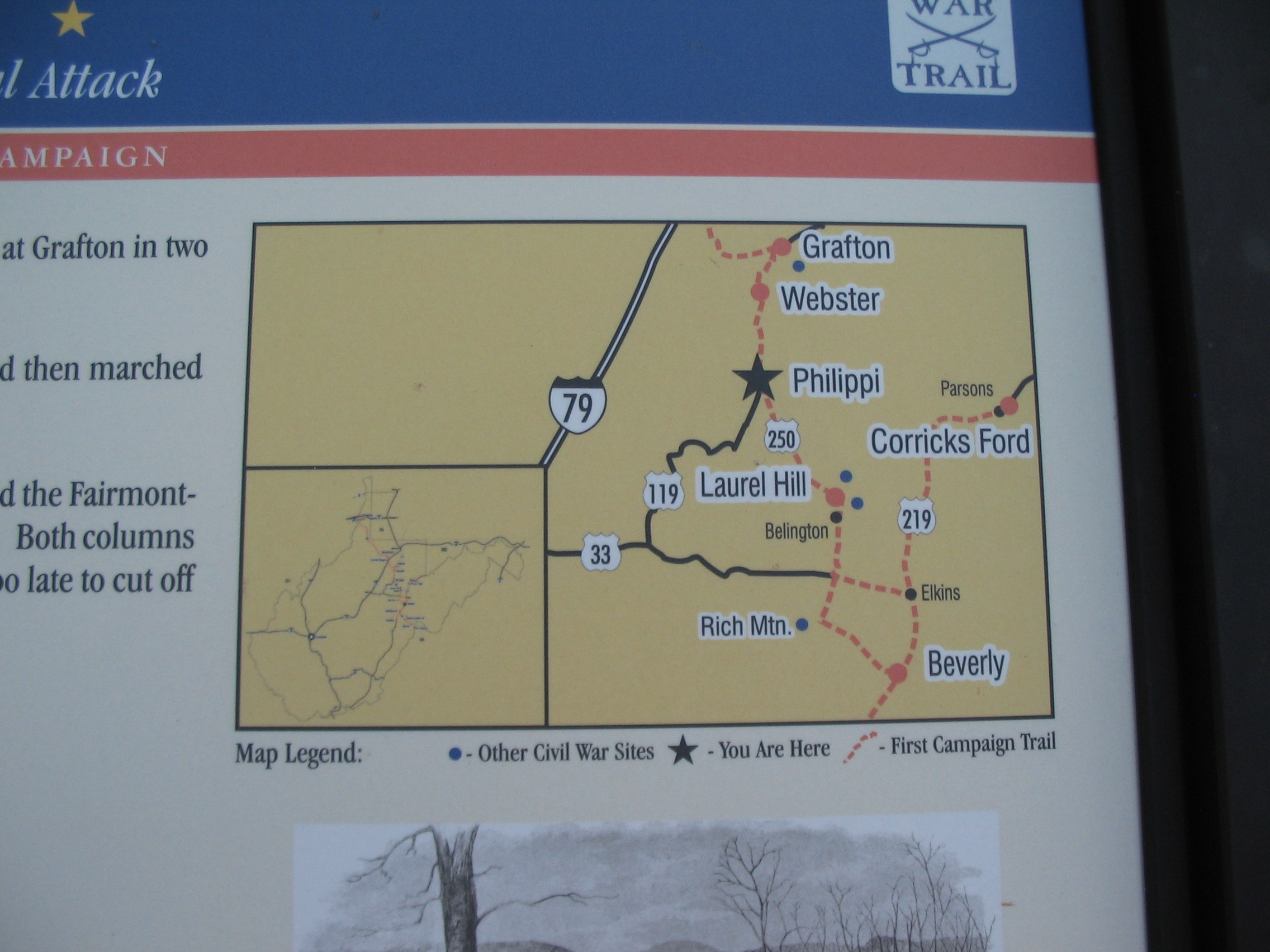 Area Civil War Sites