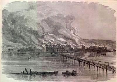 The Burning of Hampton image. Click for more information.