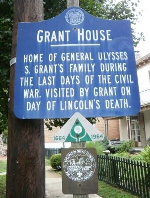 Grant House Marker image. Click for full size.