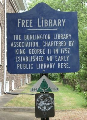Free Library Marker image. Click for full size.