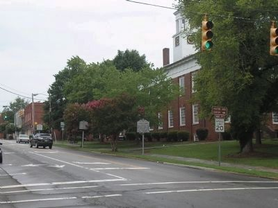 Markers in Hillsborough Historic District image. Click for full size.