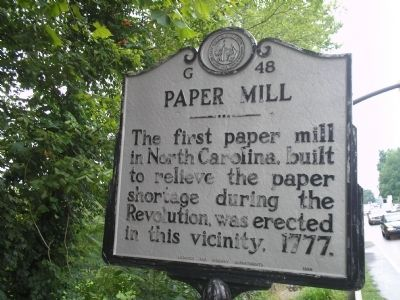 Paper Mill Marker image. Click for full size.