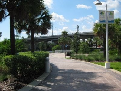 USF Park along the Tampa Riverwalk image. Click for full size.