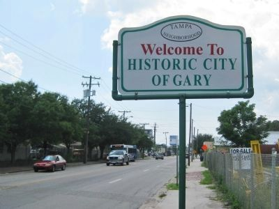 Welcome to the Historic City of Gary image. Click for full size.