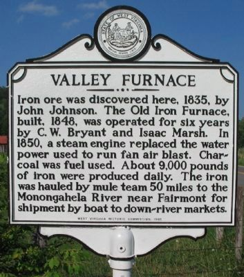 Valley Furnace Marker image. Click for full size.
