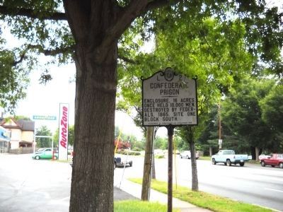 Confederate Prison Marker image. Click for full size.
