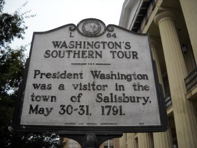 Washington Southern Tour Marker image. Click for full size.