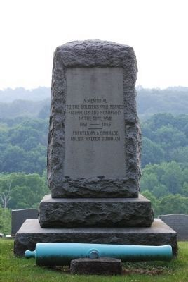 A Memorial To The Soldiers Who Served Marker image. Click for full size.