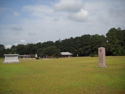 Markers at Bentonville Battlefield image. Click for full size.