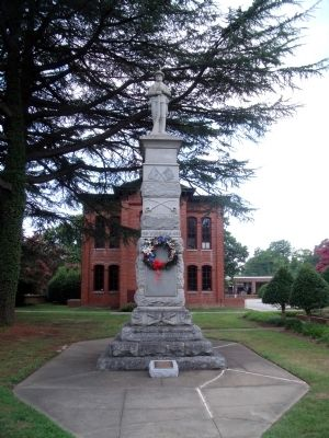 Warwick County Confederate Monument image. Click for full size.