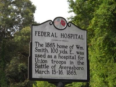 Federal Hospital Marker image. Click for full size.