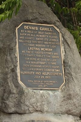 Dennis Cahill Marker image. Click for full size.