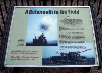 A Behemoth in the Field Marker image. Click for full size.