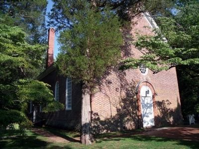 Ware Episcopal Church, c.1690 image. Click for full size.