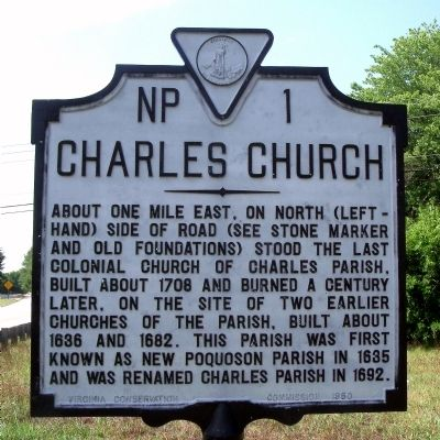 Charles Church Marker image. Click for full size.
