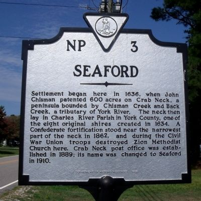 Seaford Marker image. Click for full size.
