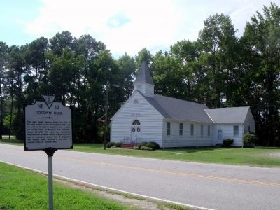 Dandy Baptist Church on Goodwin Neck Rd image. Click for full size.