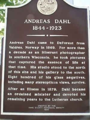 Andreas Dahl Marker image. Click for full size.