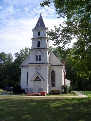 Zion Poplars Baptist Church image. Click for full size.