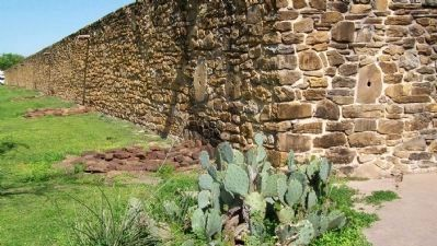 Mission San José Exterior Compound Wall image. Click for full size.