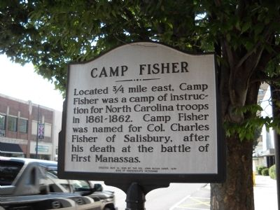 Camp Fisher Marker image. Click for full size.