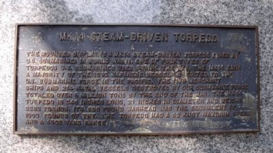 MK14 Steam-Driven Torpedo image. Click for full size.