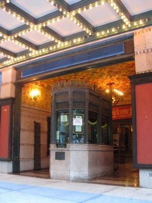 Tampa Theatre Box Office image. Click for full size.