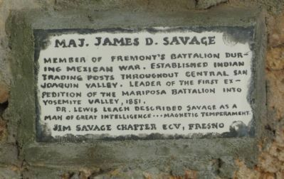 Maj. James D. Savage Marker image. Click for full size.