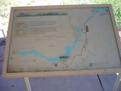 Apache Lake Marker image. Click for full size.