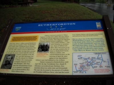 Rutherfordton Marker image. Click for full size.