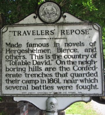 Travelers' Repose Side image. Click for full size.