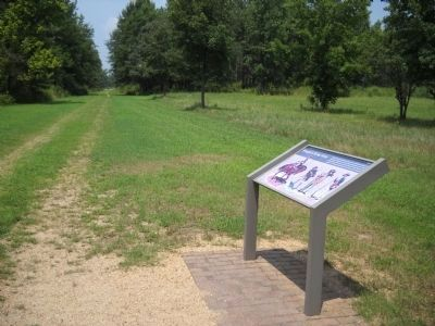 Marker on Cowpens National Battlefield image. Click for full size.