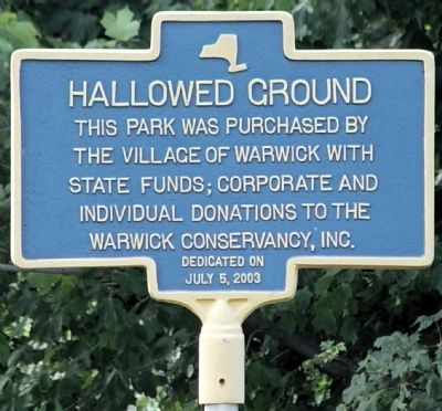 Hallowed Ground Marker image. Click for full size.