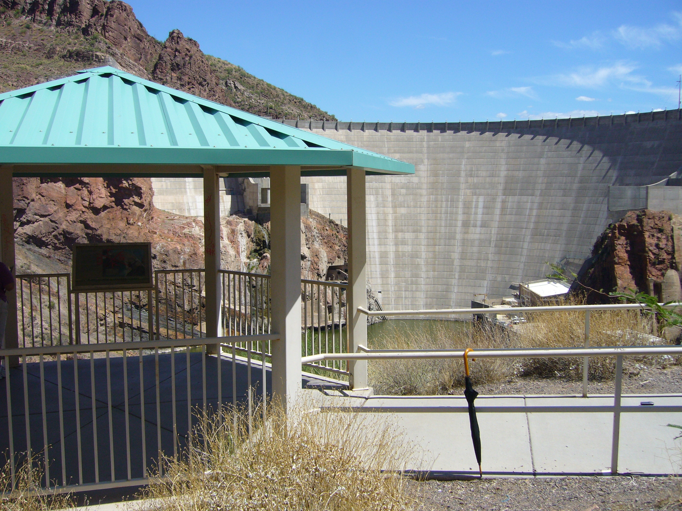 Roosevelt Dam Overlook
