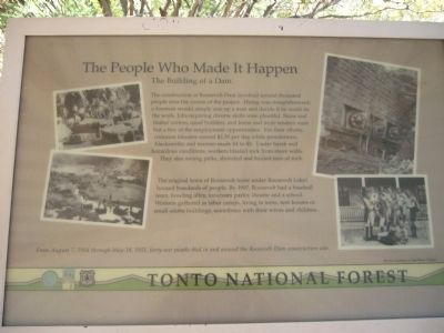 The People Who Made It Happen Marker image. Click for full size.