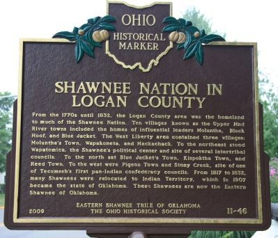Shawnee Nation in Logan County image. Click for full size.