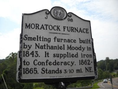 Moratock Furnace Marker image. Click for full size.