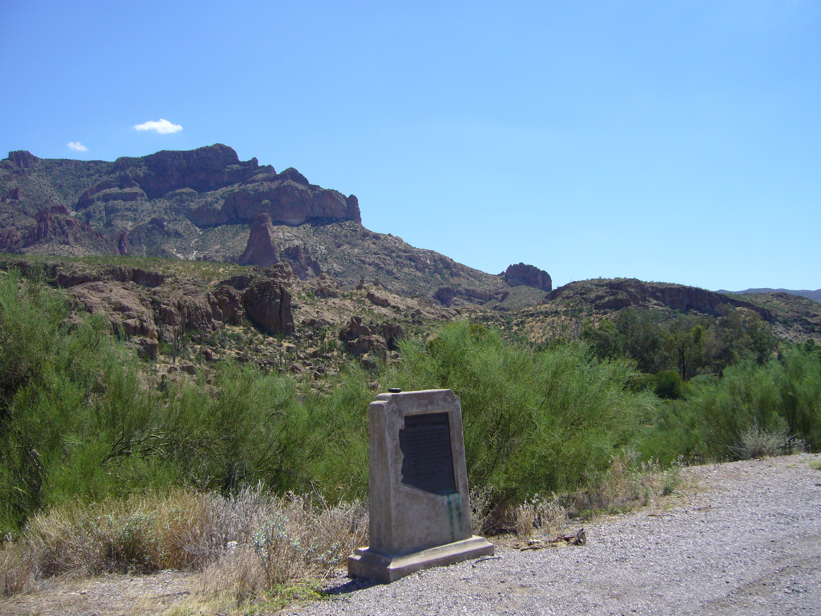 The Marker and Picket Post Mountain