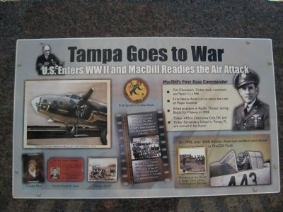 Tampa Goes to War Marker image. Click for full size.
