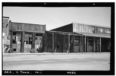 Tombstone Buildings - Allen Street image. Click for full size.