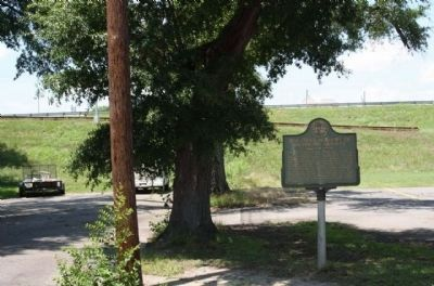 The First Academy of Richmond County Marker, image. Click for full size.